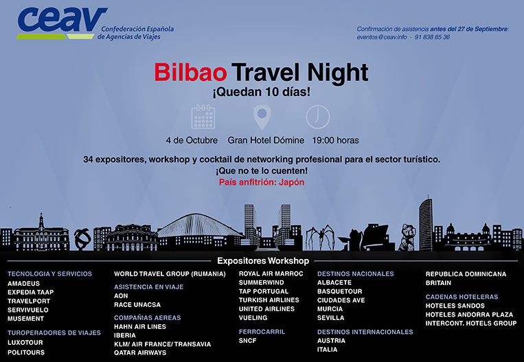 BILBAO TRAVEL NIGHT 2017